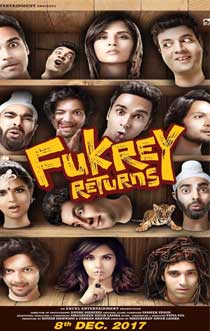 Recent Fukrey Returns Movie 2017